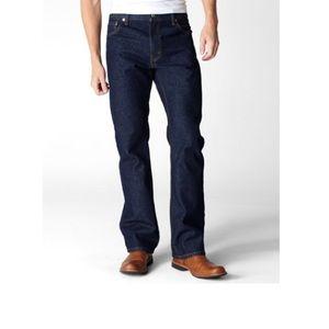NEW • Levi's • 517 Men's Bootcut Jeans Blue 34